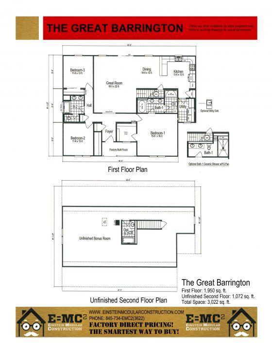 The great barrington einstein modular constuction for Barrington floor plan